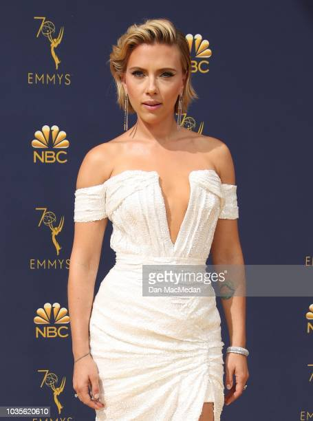 439 Scarlett Johansson Short Hair Photos And Premium High Res Pictures Getty Images