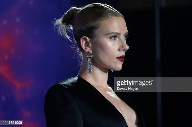 Scarlett Johansson attends the 'Avengers Endgame' UK Fan Event at Picturehouse Central on April 10 2019 in London England