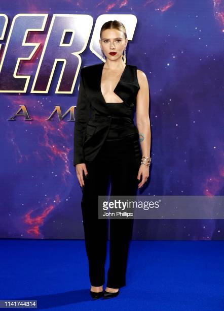 Scarlett Johansson attends the 'Avengers Endgame' UK Fan Event at the Picturehouse Central on April 10 2019 in London England