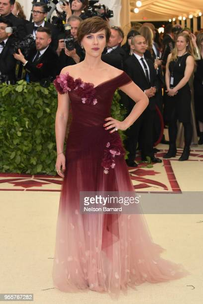 Scarlett Johansson attends the Heavenly Bodies Fashion The Catholic Imagination Costume Institute Gala at The Metropolitan Museum of Art on May 7...