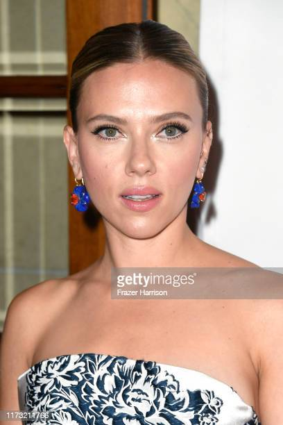 Scarlett Johansson attends the Marriage Story premiere during the 2019 Toronto International Film Festival at Winter Garden Theatre on September 08...