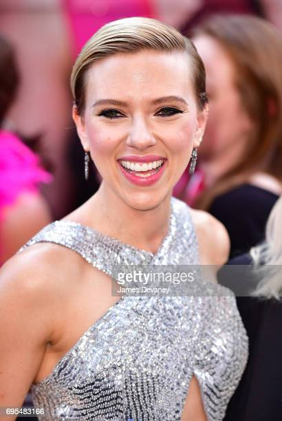 Scarlett Johansson attends the 'Rough Night' New York Premeire at AMC Lincoln Square Theater on June 12 2017 in New York City