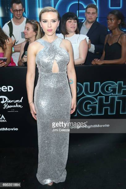 Scarlett Johansson attends the world premiere of 'Rough Night' at AMC Loews Lincoln Square 13 on June 12 2017 in New York City
