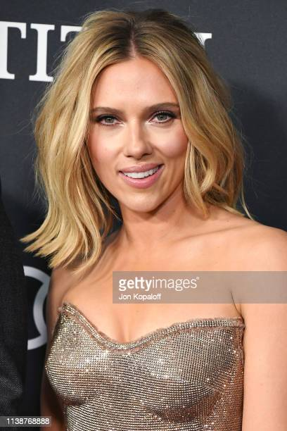 """Scarlett Johansson attends the world premiere of Walt Disney Studios Motion Pictures """"Avengers: Endgame"""" at the Los Angeles Convention Center on..."""