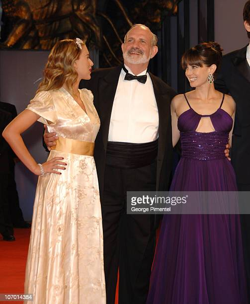 Scarlett Johansson Brian De Palma director and Mia Kirshner
