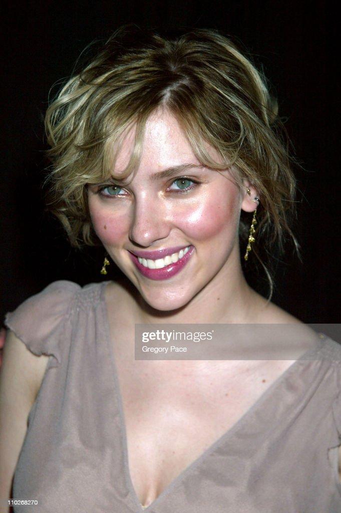 Scarlett Johansson during Cosmopolitan's 40th Birthday Bash - Arrivals and Inside at Skylight Studio in New York City, New York, United States.