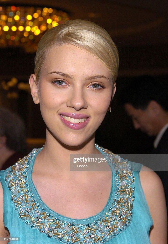 Scarlett Johansson during Los Angeles Film Critics Awards at St. Regis in Century City, California, United States.