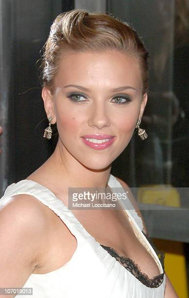 Scarlett Johansson during Scoop New York Screening July 26 2006 at The Museum of Modern Art in New York City New York United States