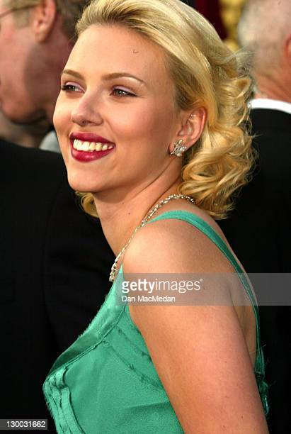 Scarlett Johansson during The 76th Annual Academy Awards Arrivals at The Kodak Theater in Hollywood California United States