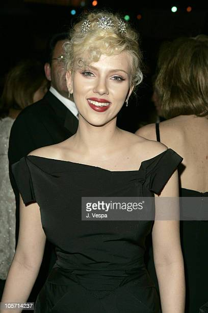 Scarlett Johansson during The 77th Annual Academy Awards Governors Ball at Kodak Theatre in Hollywood California United States