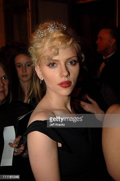 Scarlett Johansson during The 77th Annual Academy Awards Governors Ball at Kodak Theatre in Los Angeles California United States
