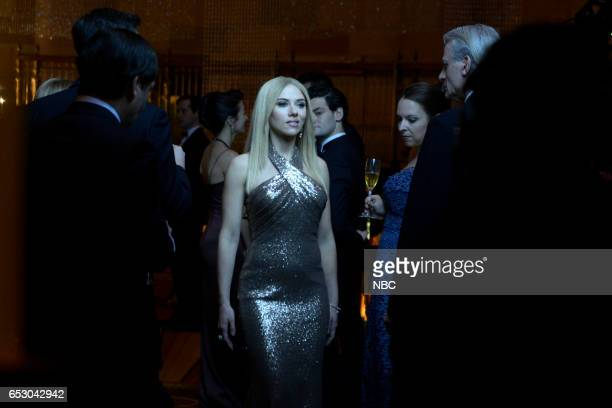 LIVE 'Scarlett Johansson' Episode 1720 Pictured Scarlett Johansson as Ivanka Trump during the 'Perfume Commercial' sketch on March 11 2017