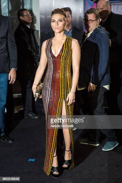 Scarlett Johansson is seen in Midtown on March 29 2017 in New York New York