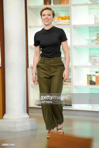 THE CHEW Scarlett Johansson is the guest Friday June 16 2017 on Walt Disney Television via Getty Images's The Chew The Chew airs MONDAY FRIDAY on the...