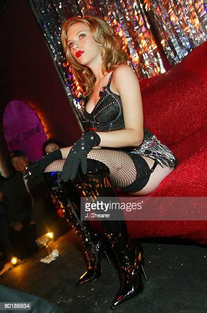 Johansson stockings scarlett Black Widow