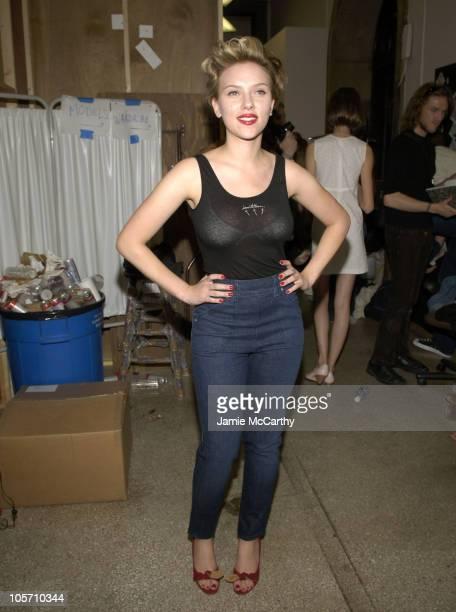 Scarlett Johansson wearing Imitation of Christ Spring 2006
