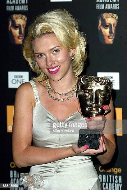 Scarlett Johansson winner Of Best Leading Actress for 'Lost in Translation'