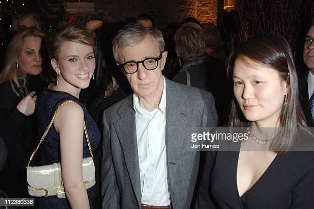 Scarlett Johansson Woody Allen and Soon Yi Previn