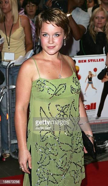 Scarlett Johnson Attends The 'Dodgeball A True Underdog Story' Uk Premiere In London