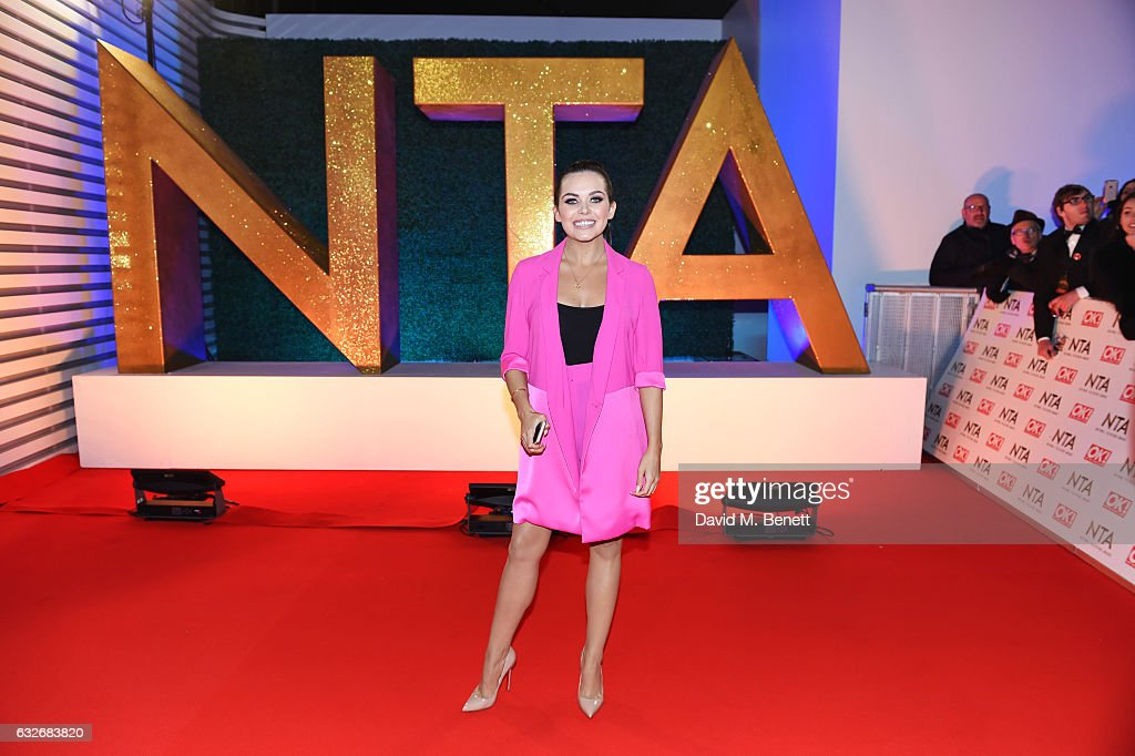 National Television Awards - VIP Arrivals