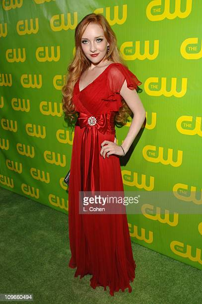 Scarlett Pomers during The CW Winter 2007 TCA Press Tour Party Green Carpet and Inside at Ritz Carlton in Pasadena California United States