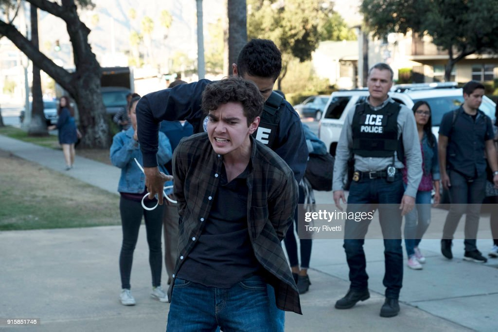 THE FOSTERS - Scars - Callie receives a surprising tip from an unexpected source, meanwhile Jude tries to assuage Noahs fears about his budding relationship with fellow gamer Declan. This episode of The Fosters airs Tuesday, Feb. 6 (8:00 - 9:01 p.m. EST) on Freeform. MCGARRY