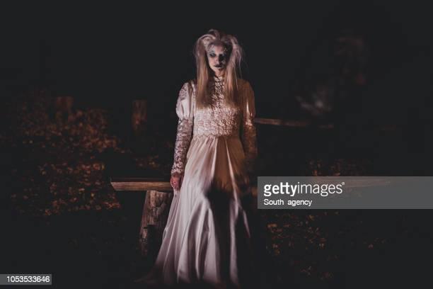 怖いハロウィーンの夜