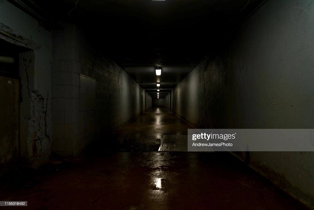 Scary hallway : Stock Photo