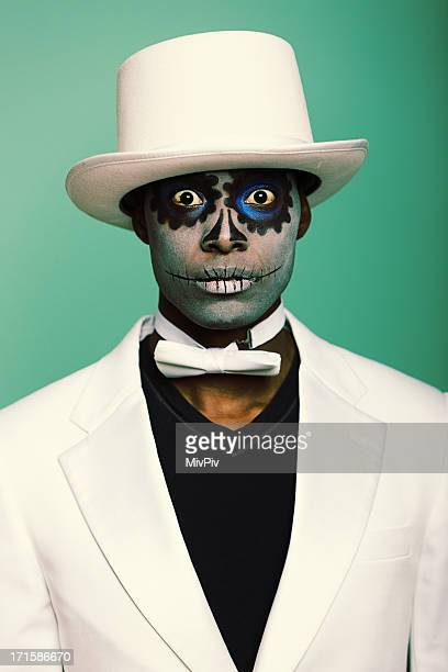 Scary Sugar Skull Mann