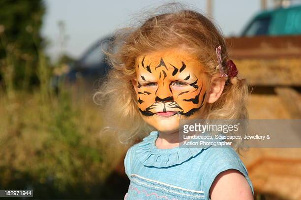 Scary tiger