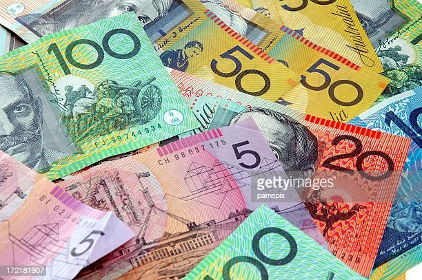 Scattered Australian Cash