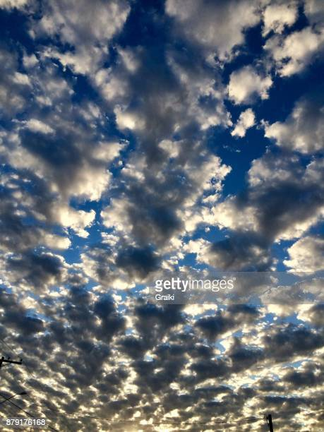 Scattered Clouds Sky