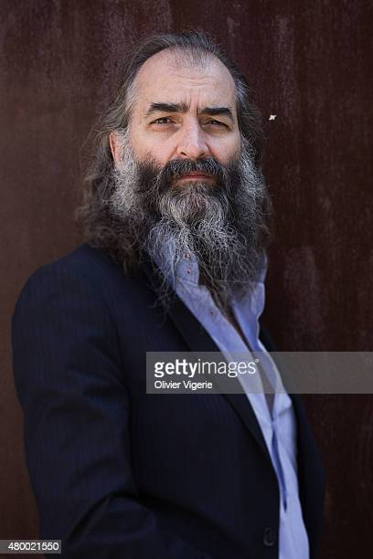 Scenarist Warren Ellis is photographed for Self Assignment on June 24 2015 in Paris France