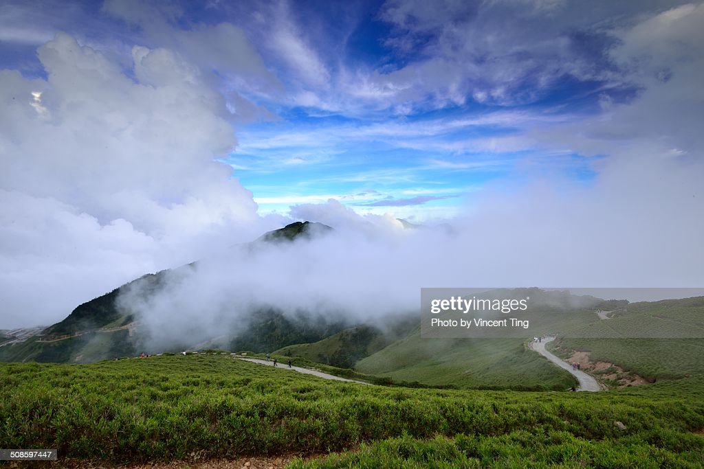 Scene at Mountain Hehuan, Taiwan : Stock-Foto