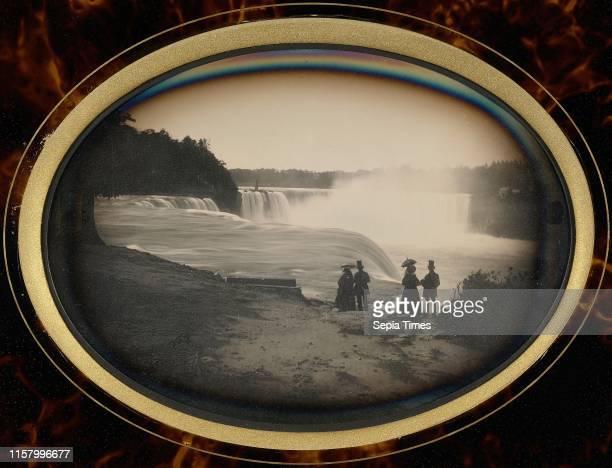 [Scene at Niagara Falls]; Platt D. Babbitt. American. Died 1879. Active Niagara Falls. New York 1853 - 1870; about 1855; Daguerreotype; Whole plate....