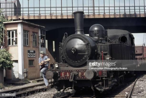 A scene at Savonna Docks with Emilio Astengo No 04 an 080T ex Italian SudEst Railway No 14 on Monday 4th September 1972