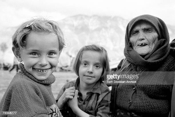 A scene at the refugee camp in Kukes Albania which became home to thousands of people fleeing from Kosovo April 1999 The Serbs called it 'ethnic...