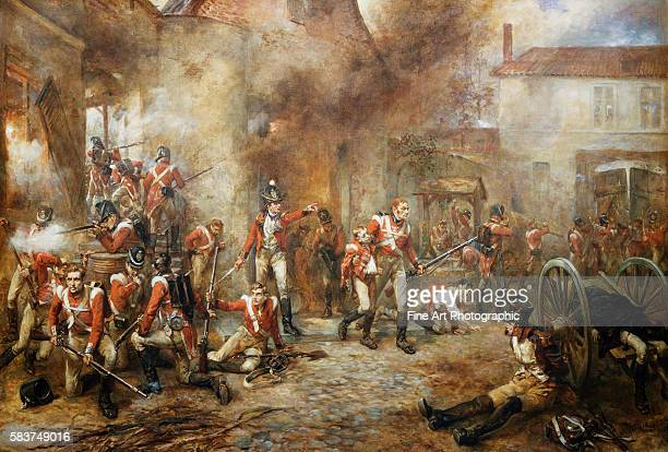 A Scene at Waterloo by Robert Alexander Hillingford