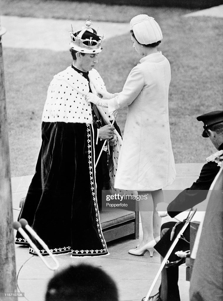 Investiture of Prince Charles As Prince Of Wales : News Photo