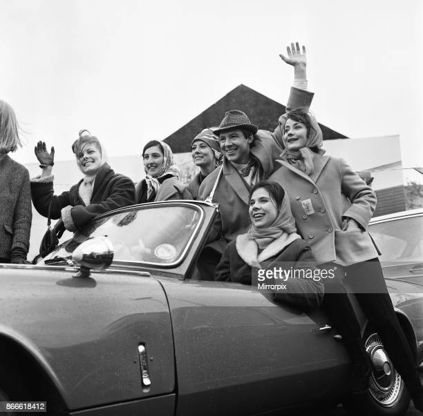 A scene for a future 'Coronation Street' episode calls for Dennis Tanner to go to a motor race meeting He is driven there by Amanda Reiss The scene...