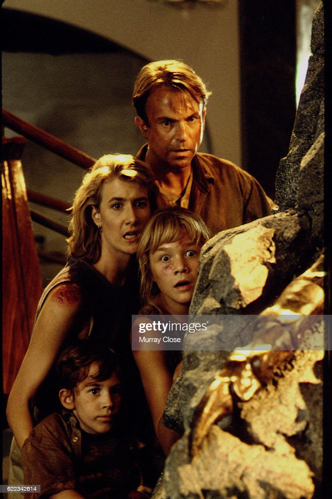 Scene from Jurassic Park : News Photo