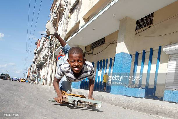 A scene from a daily life in Havana on November 27 the second day after Fidel Castro Cuba's historic revolutionary leader and the former Prime...