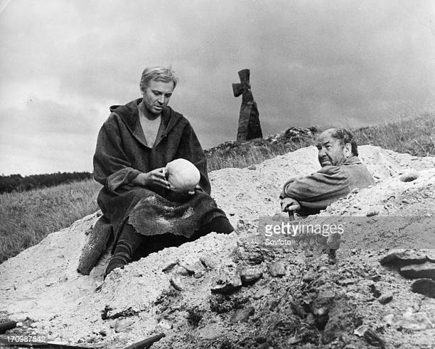 A scene from a film version of 'hamlet' directed by grigori kozintsev and starring innokenti smoktunovsky the score was composed by dimitry...