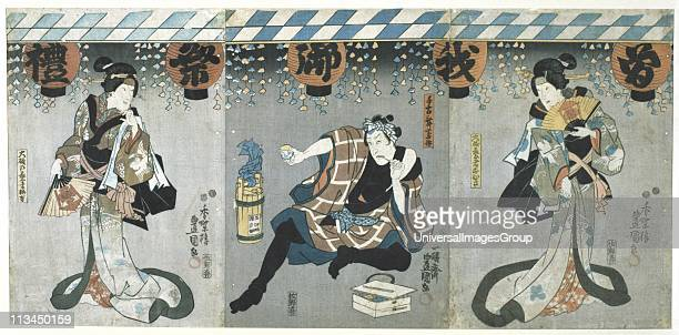 Scene from a Kabuki theatre performance In this highly stylised Japanese dancedrama from 1629 all roles had to be played by men Those who specialised...