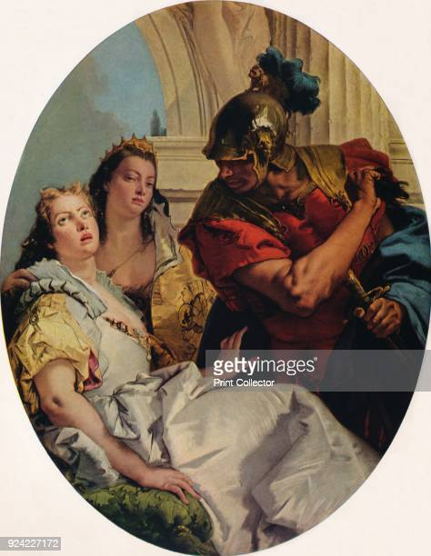'Scene from Ancient History' c1750 The painting is part of the Kress Collection National Gallery of Art Washington DC From Masterpieces of Painting...