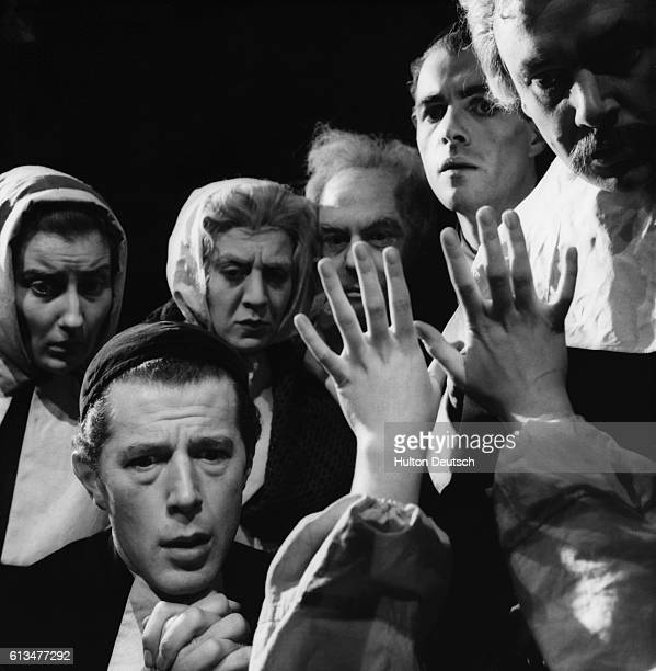 A scene from Arthur Miller's play The Crucible about the Salem witch trials