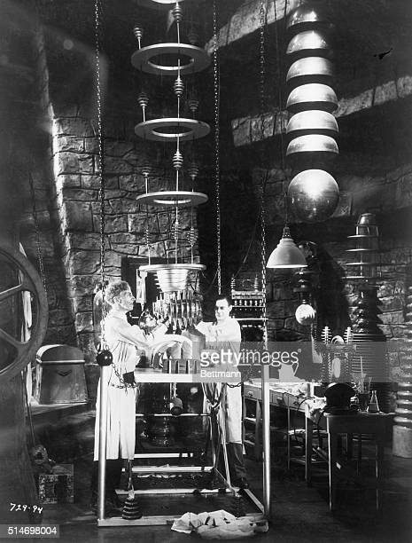 Scene From Bride of Frankenstein