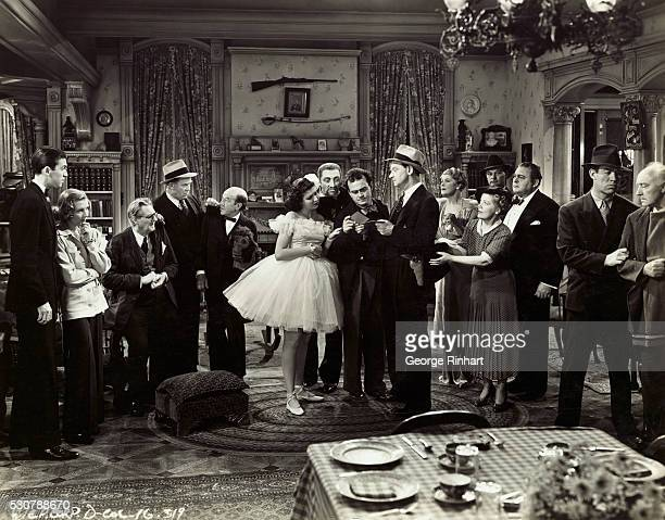 Scene from Columbia's Frank Capra production You Can't Take It With You 1938 film version of Moss Hart's 1936 stage hit of the same title The film...