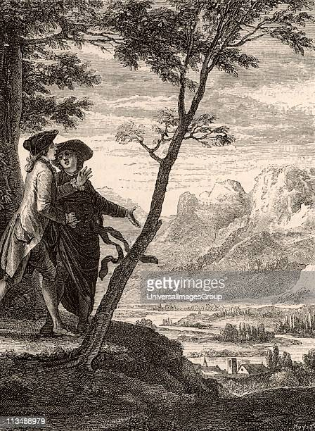 Scene from Emile ou Traite de l'education by JeanJacques Rousseau In this novel by the French political philosopher and educationlist Rousseau as an...