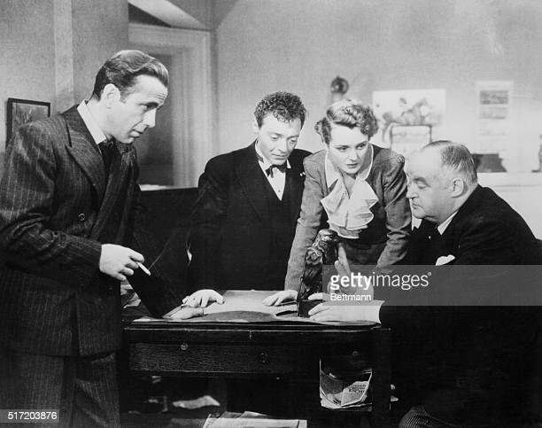 Scene from Maltese Falcon Motion pictured released in 1941 | Version of 'The Maltese Falcon' by Dashiell Hammett